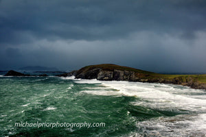 Sleahead, Dingle,Kerry In Hailstones And 130km Winds