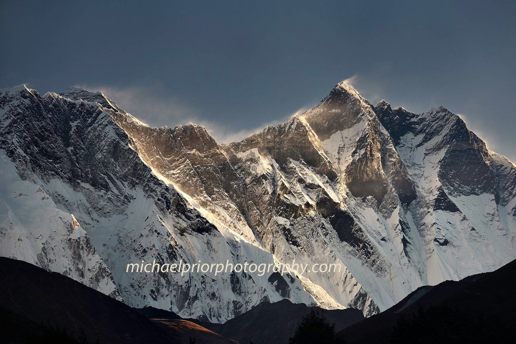 Mt Everest In Early Morning