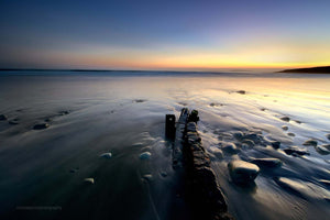Garretstown - Groynes At Sunset - Michael Prior Photography
