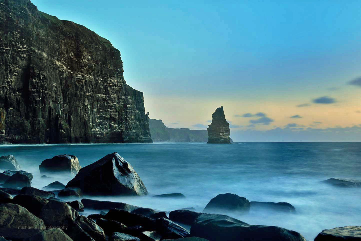Cliffs Of Moher In Twilight - Michael Prior Photography