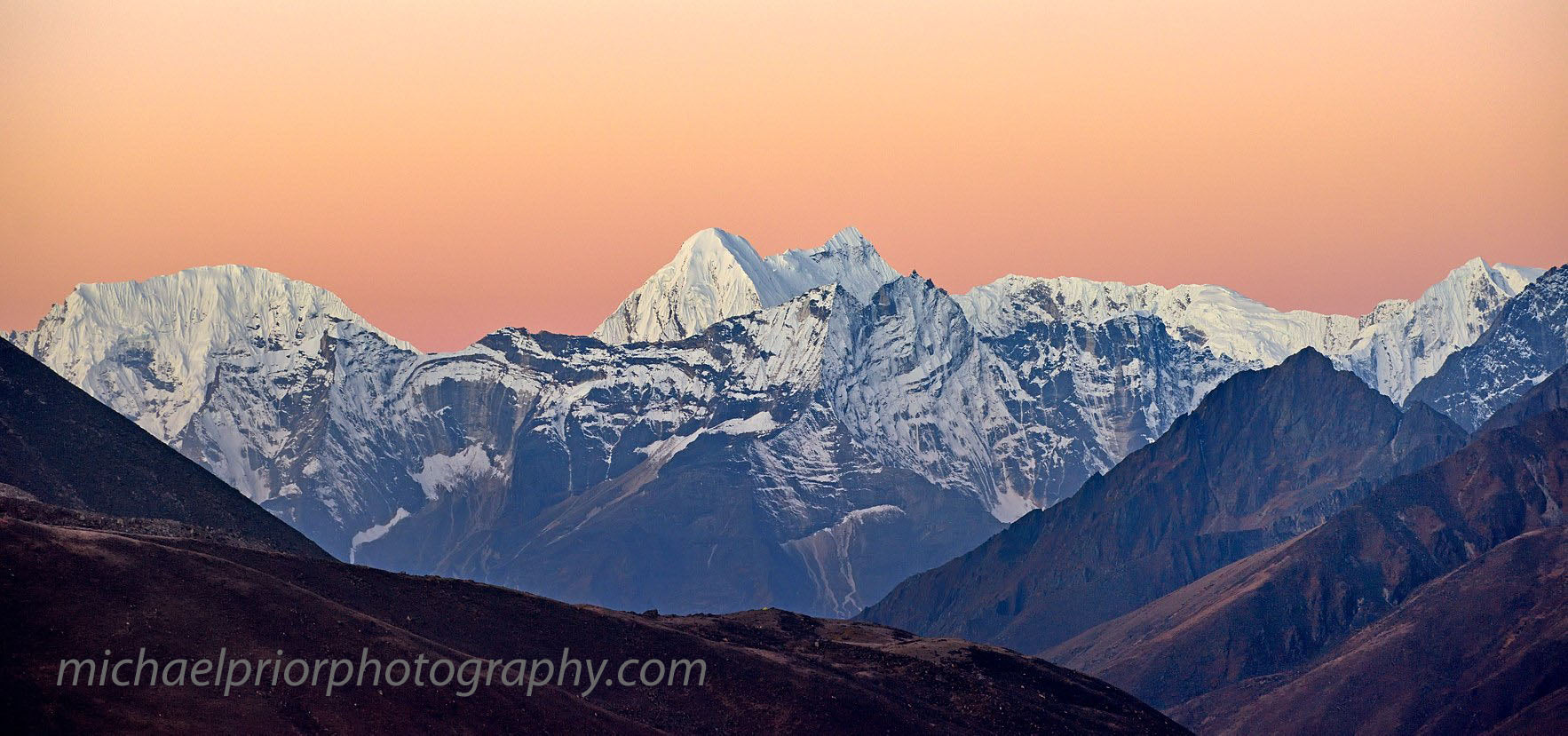 Himalaya Sunrise - Michael Prior Photography