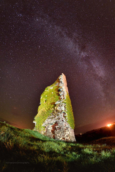 The Ruin Under The Stars - Michael Prior Photography