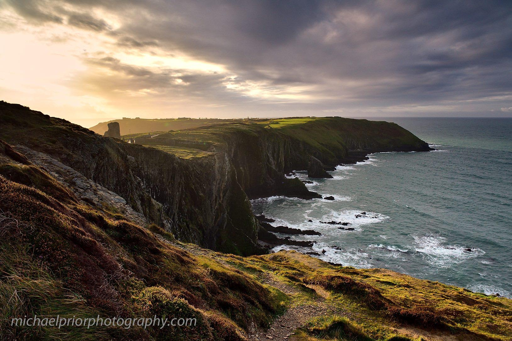Winter Sunrise At The Oldhead Of Kinsale