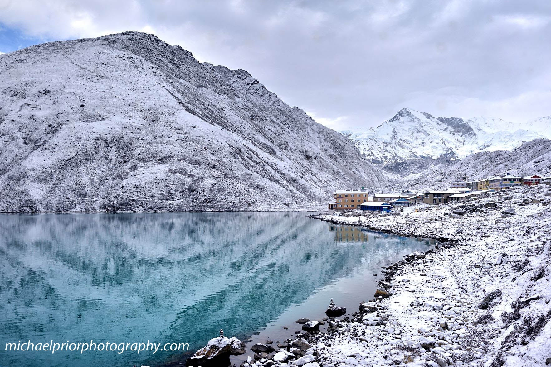 Gokyo after Snow