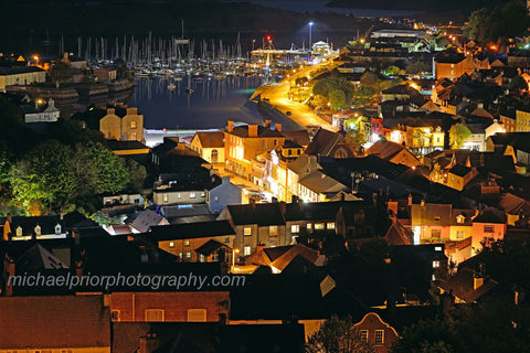 Kinsale Streets At Night - Michael Prior Photography