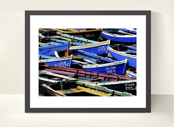 Morroccan Fishing Boats - Michael Prior Photography - 2