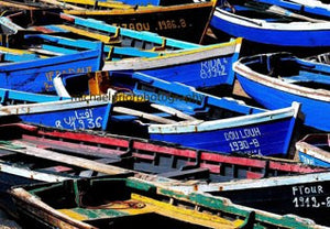 Morroccan Fishing Boats - Michael Prior Photography