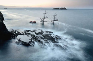 The Sinking Astrid At Dawn - Michael Prior Photography