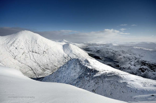 Kerry Mountains Under A Blanket Of Snow - Michael Prior Photography