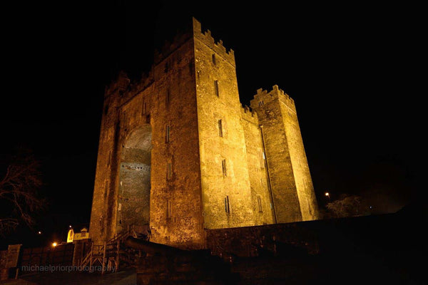 Bunratty Castle By Night - Michael Prior Photography