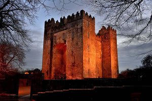 Bunratty Castle At Dusk - Michael Prior Photography