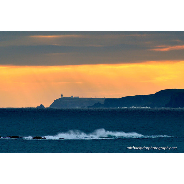 Sundown At Galley Head - Michael Prior Photography
