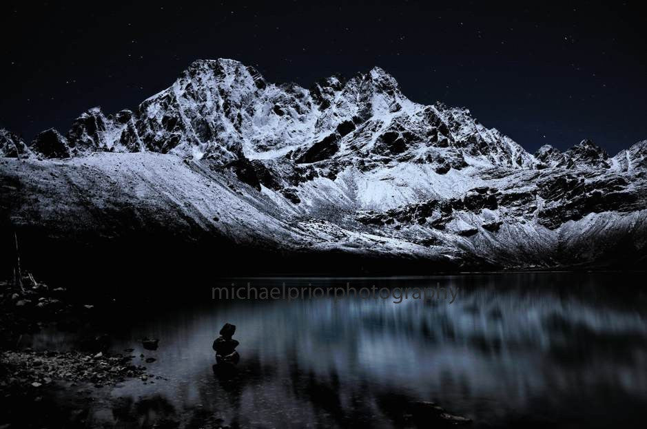 Gokyo Lake At Night - Michael Prior Photography