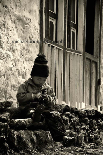 Little Himalayan Boy - Michael Prior Photography