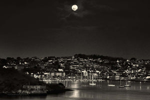 Full Moon Setting Kinsale - Michael Prior Photography