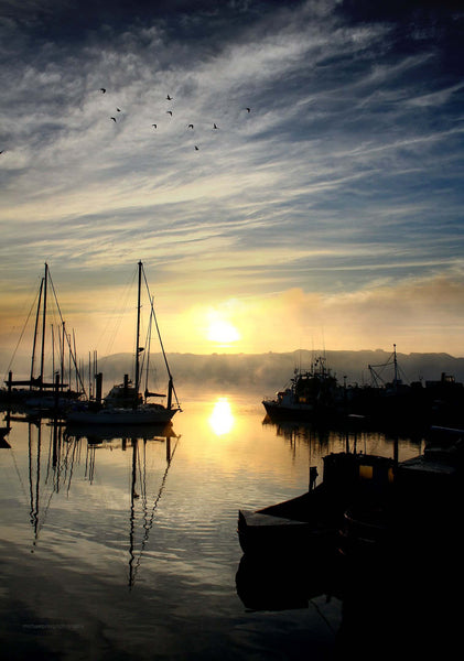 Kinsale Harbour At Sunrise - Michael Prior Photography