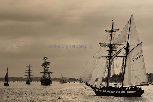 Pirate Ships In Brittany - Michael Prior Photography