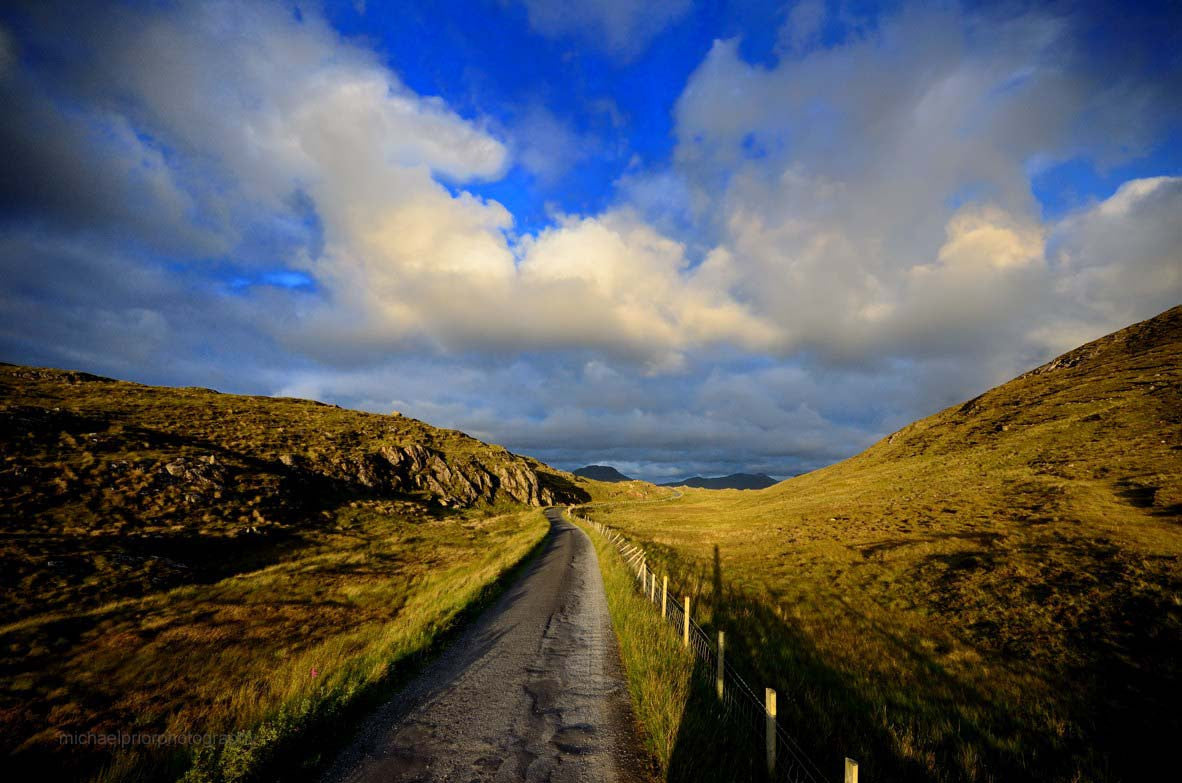Road Through Connemara - Michael Prior Photography