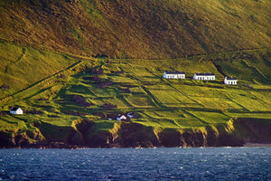 The Great Blasket Island In Evening Sun - Michael Prior Photography