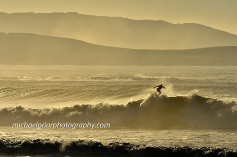 Early Morning Surf In Garretstown