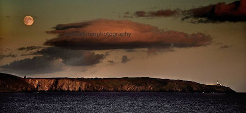 Full Moon Over The Old Head - Michael Prior Photography