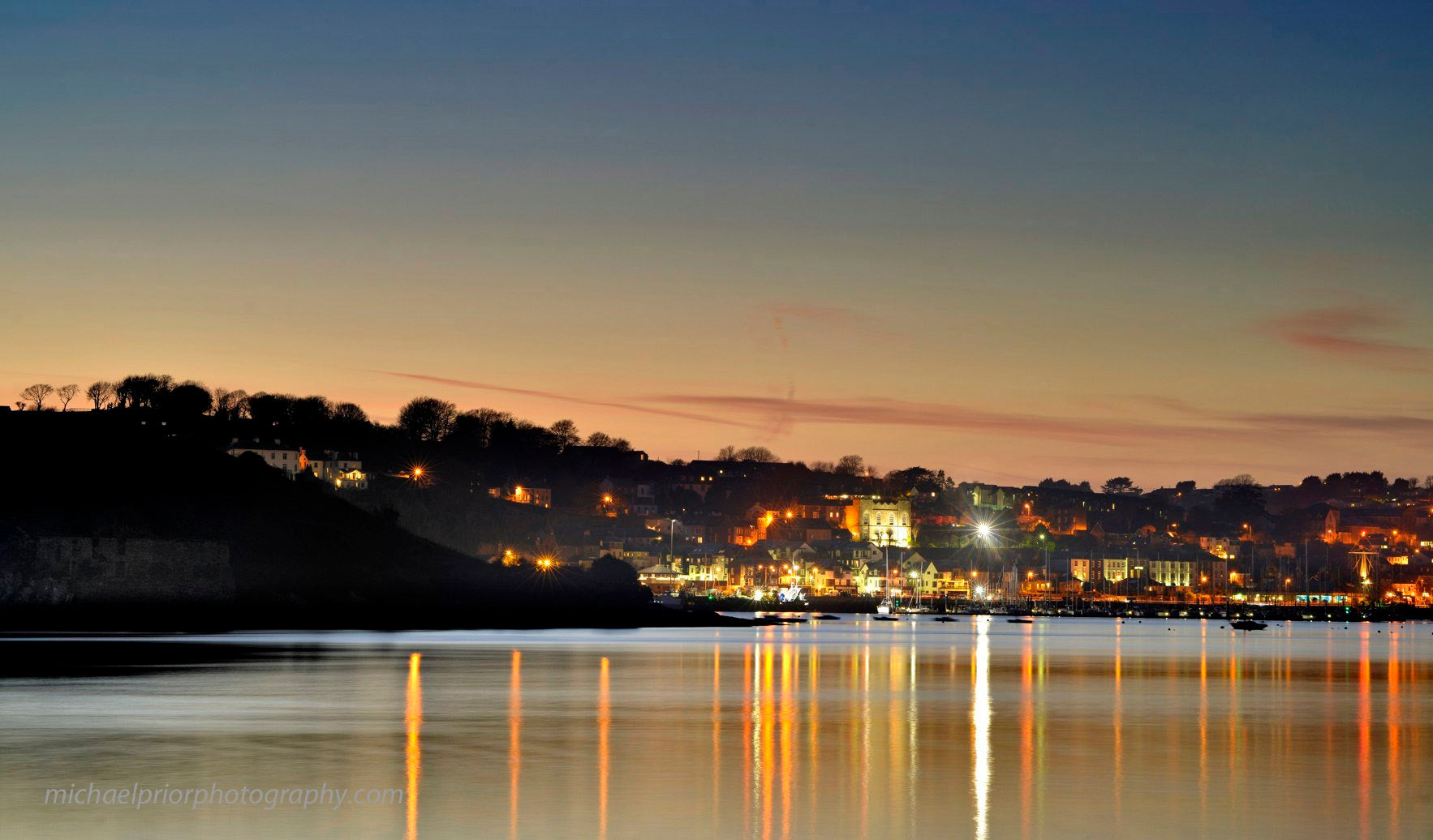 Sunset At Kinsale - Michael Prior Photography