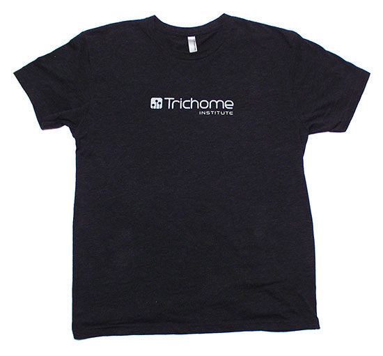 Trichome Institute Heathered Black T-Shirt