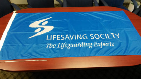 Lifesaving Society Flag