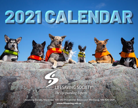 2021 Pets in Lifejackets Calendar