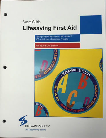 Lifesaving First Aid Award Guide
