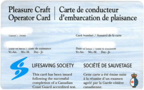 Pleasure Craft Operator (PCO) Card Exam
