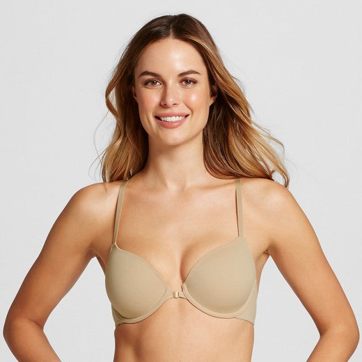 Everyday Racerback Bra in Honey-Beige