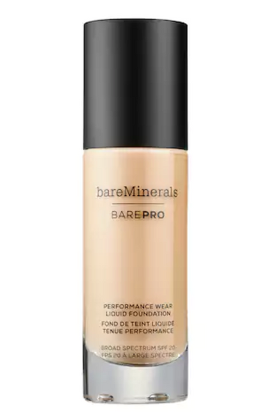 BarePRO Performance Wear Liquid Foundation Broad Spectrum SPF 20 in Cool Beige 10