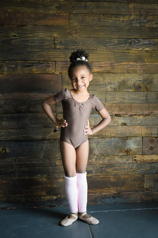 Youth Short Sleeve Leotard - Amina