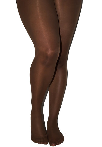 Matt 15 Denier Curve Tights BERRY