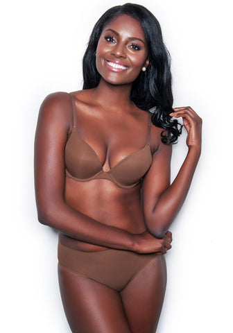 Essential T-Shirt Bra BERRY