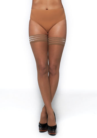 Matt 10 Denier Hold-Ups CAFE AU LAIT
