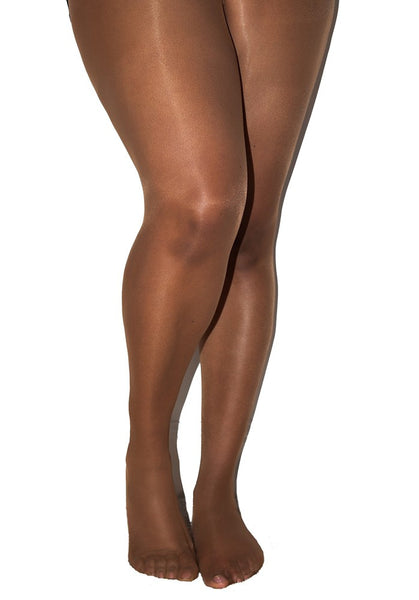 Matt 15 Denier Curve Tights CARAMEL