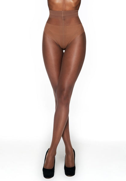 Matt 10 Denier Tights CINNAMON
