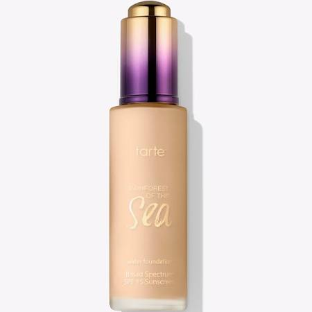 Water Foundation Broad Spectrum SPF 15 - Rainforest of the Sea Collection in Light Honey