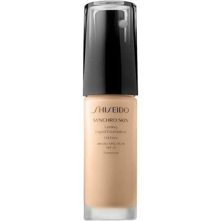 Synchro Skin Lasting Liquid Foundation Broad Spectrum SPF 20 in Neutral 3