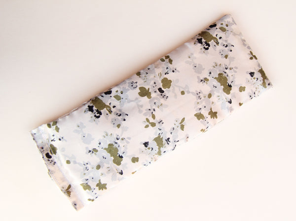 Yoga Eye Pillow - Floral Satins