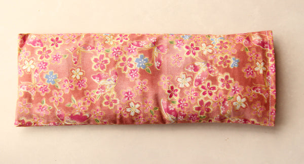 Eye Pillow with Washable Cotton Pillow Cover - Butterflies