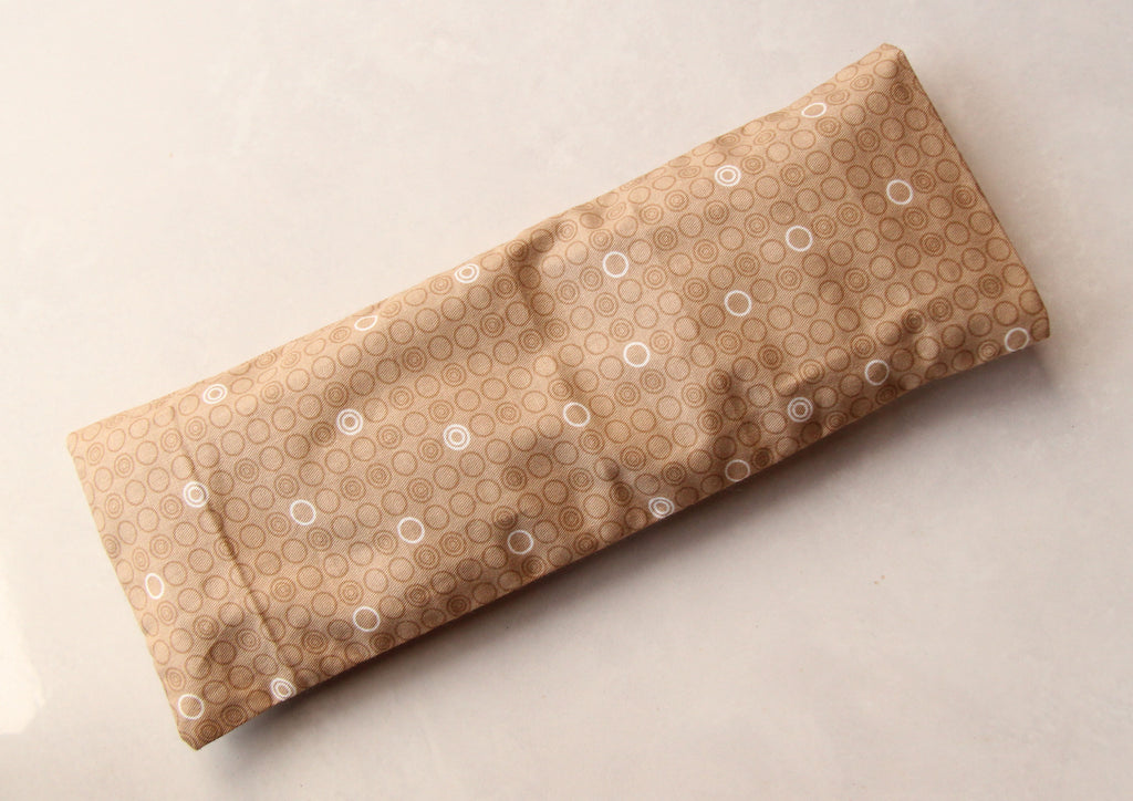 Eye Pillow with Washable Cotton Pillow Cover - Merry Go Round