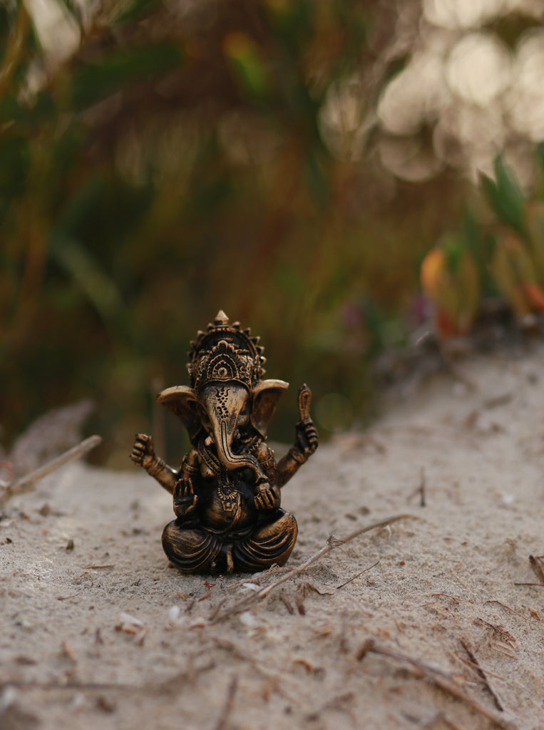 Bronze Ganesha - Yoga Studio Decor - Yoga Gift