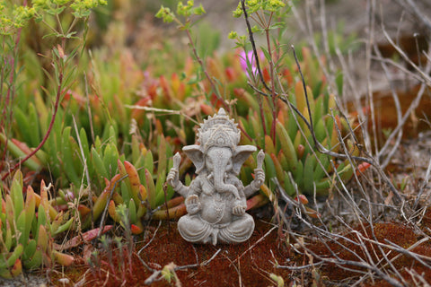 Sandstone Ganesha - Yoga Studio Decor - Yoga Gift