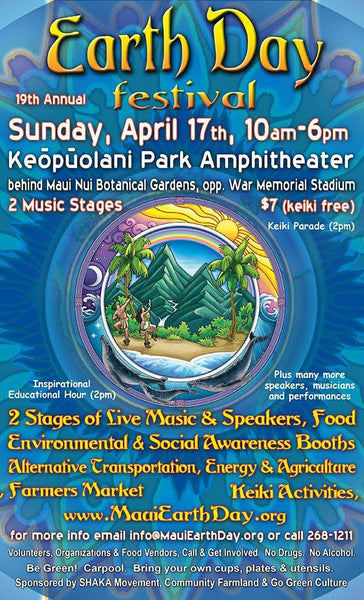 MAUIS Earth Day Celebration