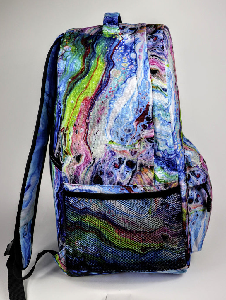 Kesey Blue Backpack