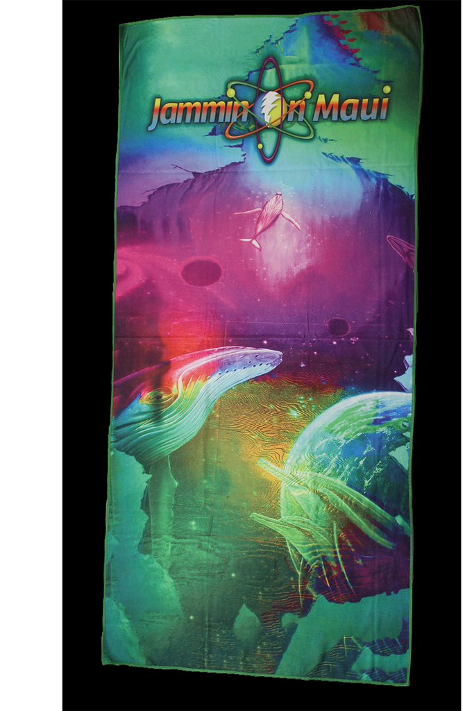 Dye Sub Yoga Beach Towel