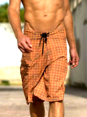 Full Spectrum Orange Sunshine Board Shorts